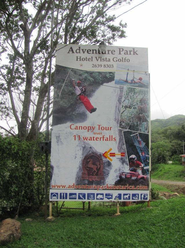 Adventure Park Zipline over 11 Waterfalls Puntarenas, Costa Rica