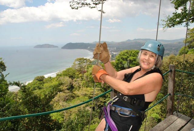 Zip-Line over Jaco Beach, Costa Rica