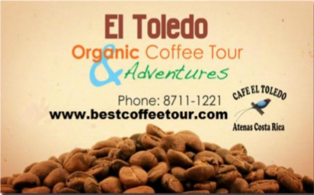 El Toledo Organic Coffee Tour, Atenas, Costa Rica